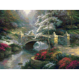 Мост край гората