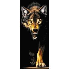 Вълк с горделива походка