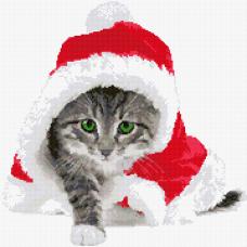 Коледно коте