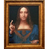 Спасителят на света /Леонардо да Винчи/ - ушит