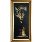 Вълк с горделива походка - ушит